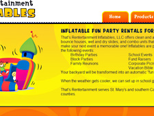 That's Rentertainment Web Screenshot